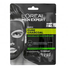 Ansiktsmask Pure Charcoal L'Oreal Make Up