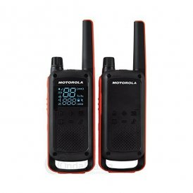 Walkie-Talkie Motorola T82 (2 Pcs) Svart