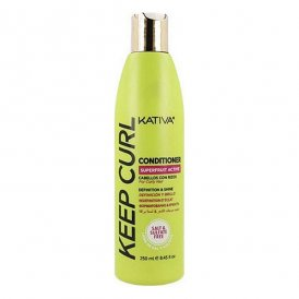 Definierande lockbalsam Kativa Keep Curl (250 ml)