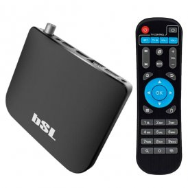 TV-spelare Android BSL ABSL-216DVBTS 8 GB WiFi Svart