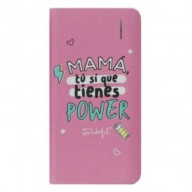 Power Bank Mr. Wonderful MRPWB031 4000 mAh Pink