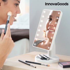 InnovaGoods LED Tabletop Touch Mirror