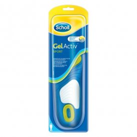 Scholl GelActiv Sport Insoles for Men