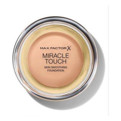 Flytande makeupbas Miracle Touch Max Factor (Färg: 085 - caramel)