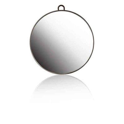 Speglar Xanitalia Svart Med handtag (ø 29 cm)