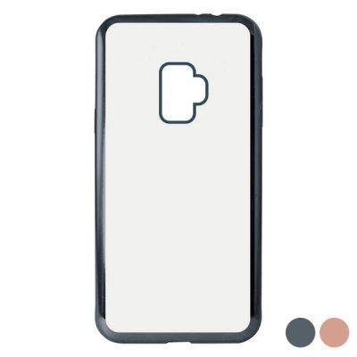 Mobilfodral Samsung Galaxy S9 KSIX Flex Metal TPU Flexibel (Färg: Rose Gold)