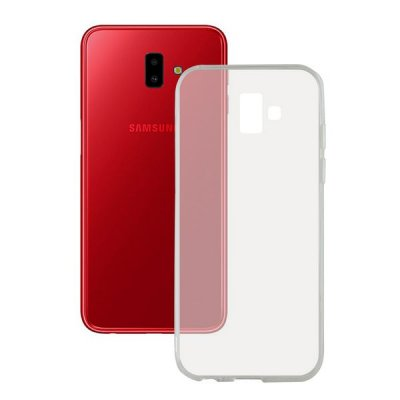 Mobilfodral Samsung Galaxy J6+ 2018 Flex TPU Transparent