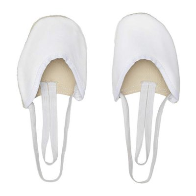 Women's Rhythmic Gymnastics Toe Shoes Valeball Vit